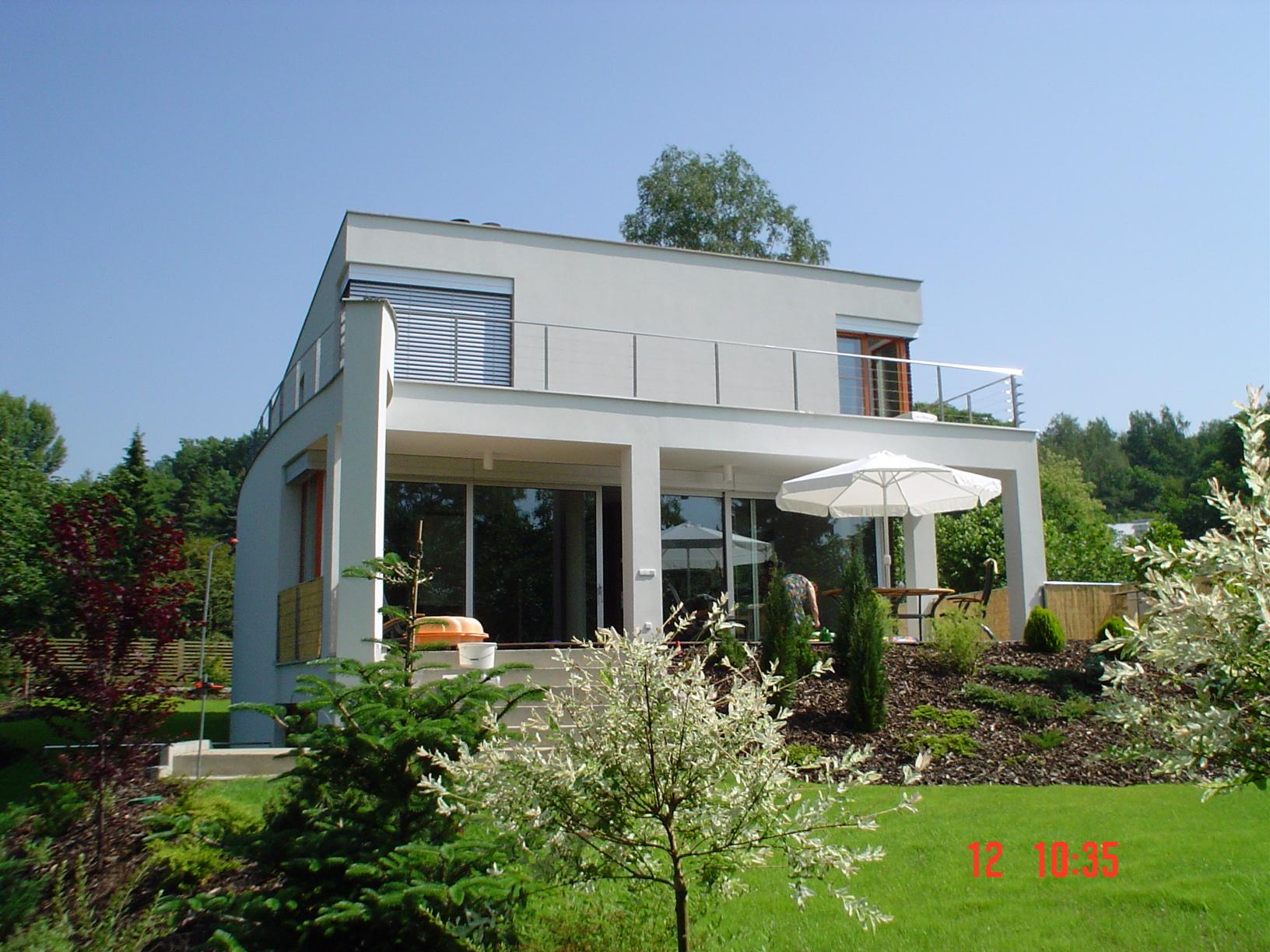 Výstavba rodinné vily